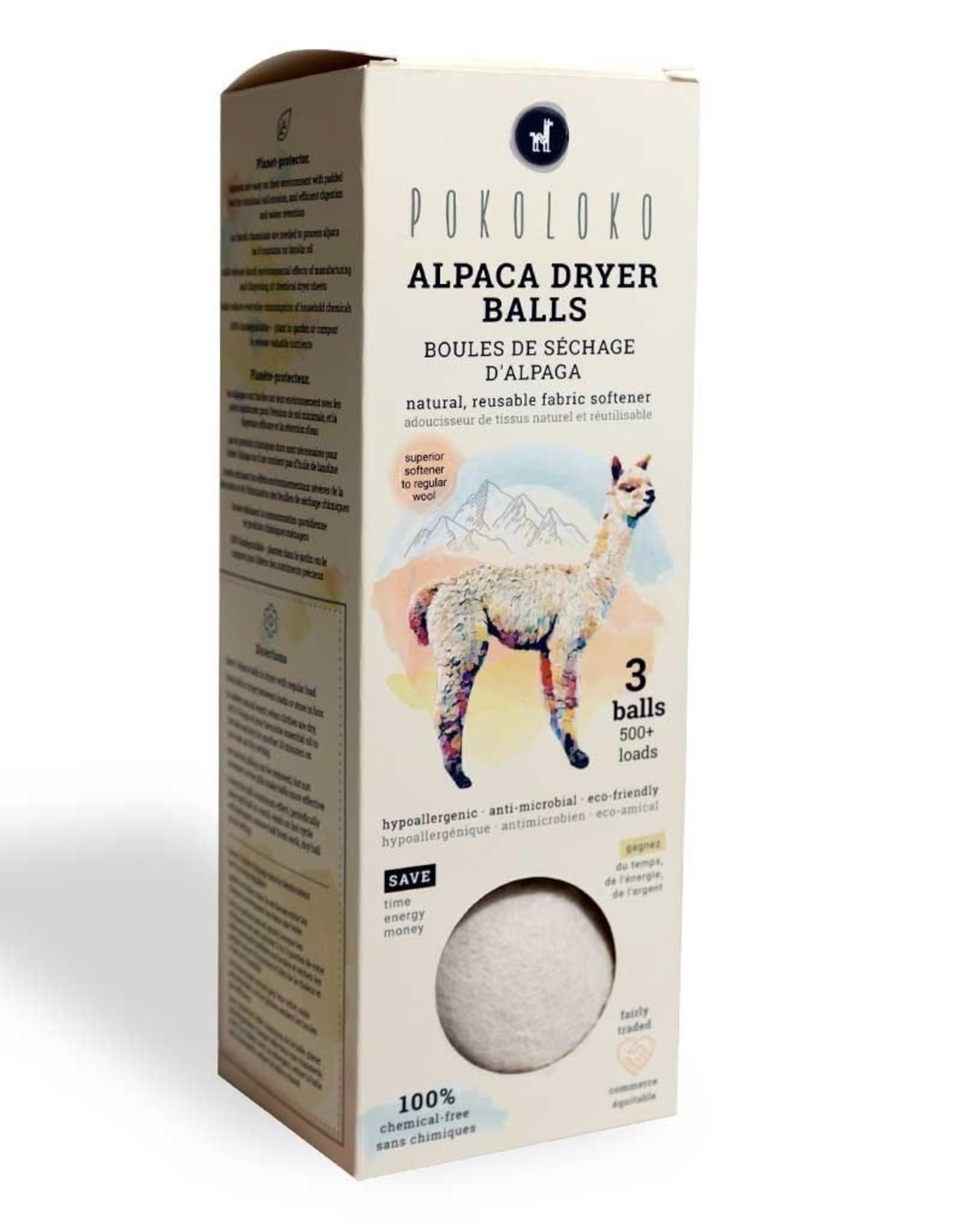 Pokoloko Alpaca Dryer Balls
