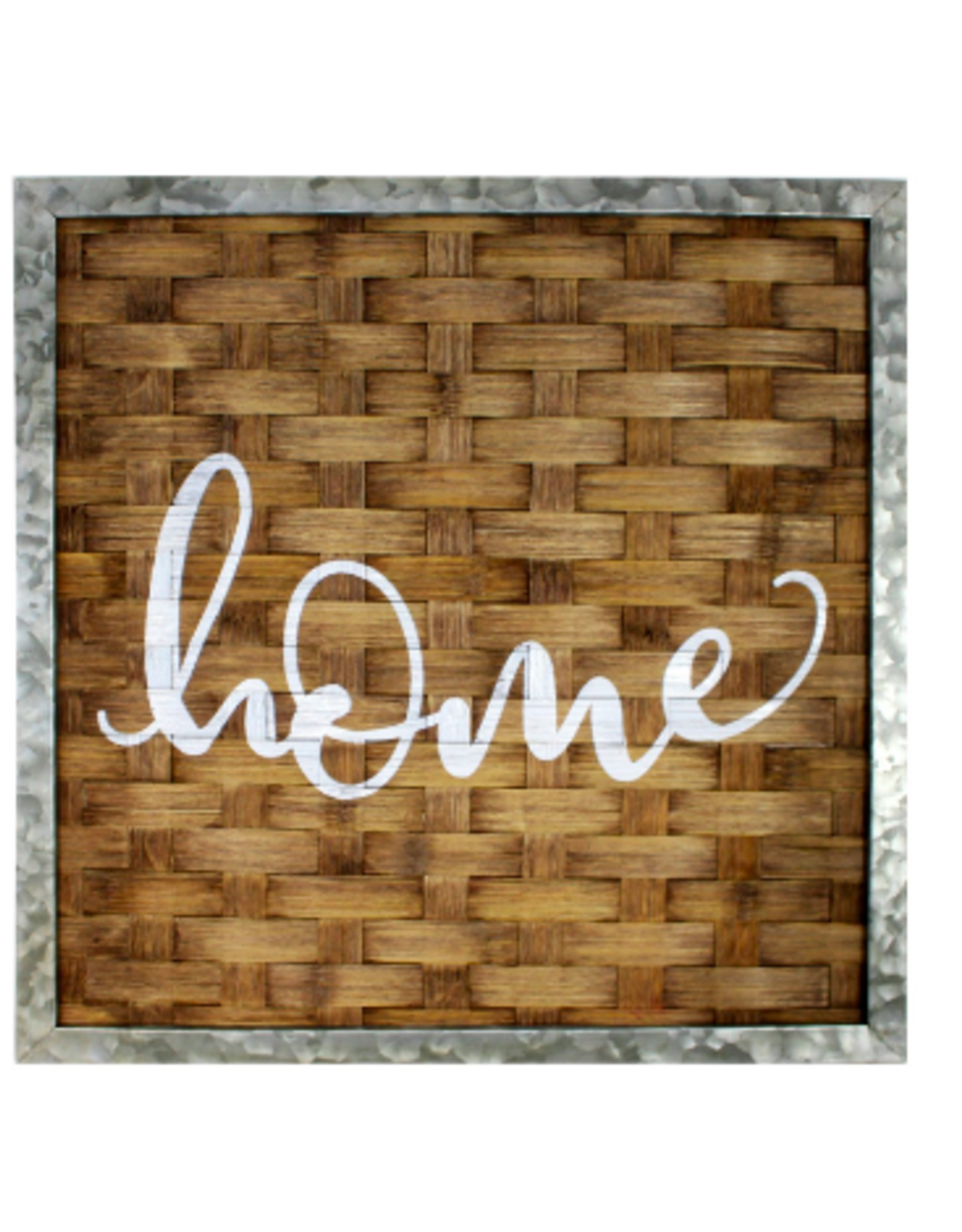 Signs Splash Bamboo Weave Home
