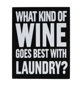 Signs Splash Wine Laundry