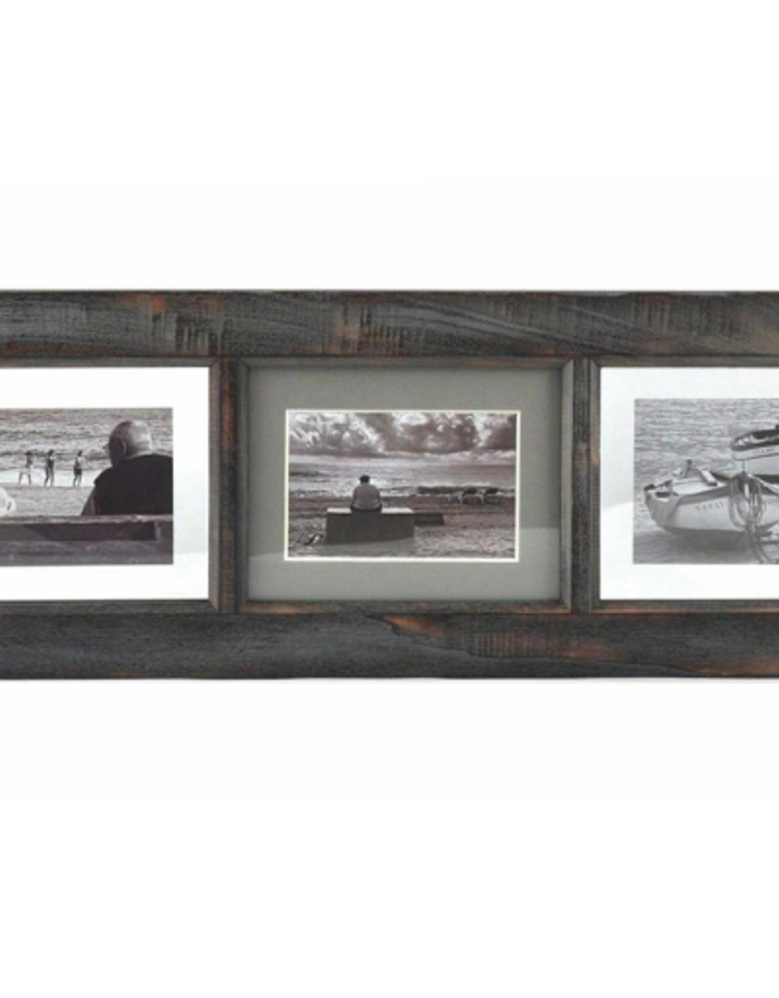 Picture Frame Splash 3 Pictures Washed Wood