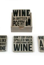 Coasters Splash Four Piece Wine