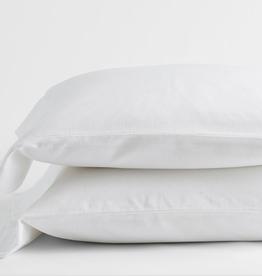 Intermark Pillow Cases Dormisette Flannel King White
