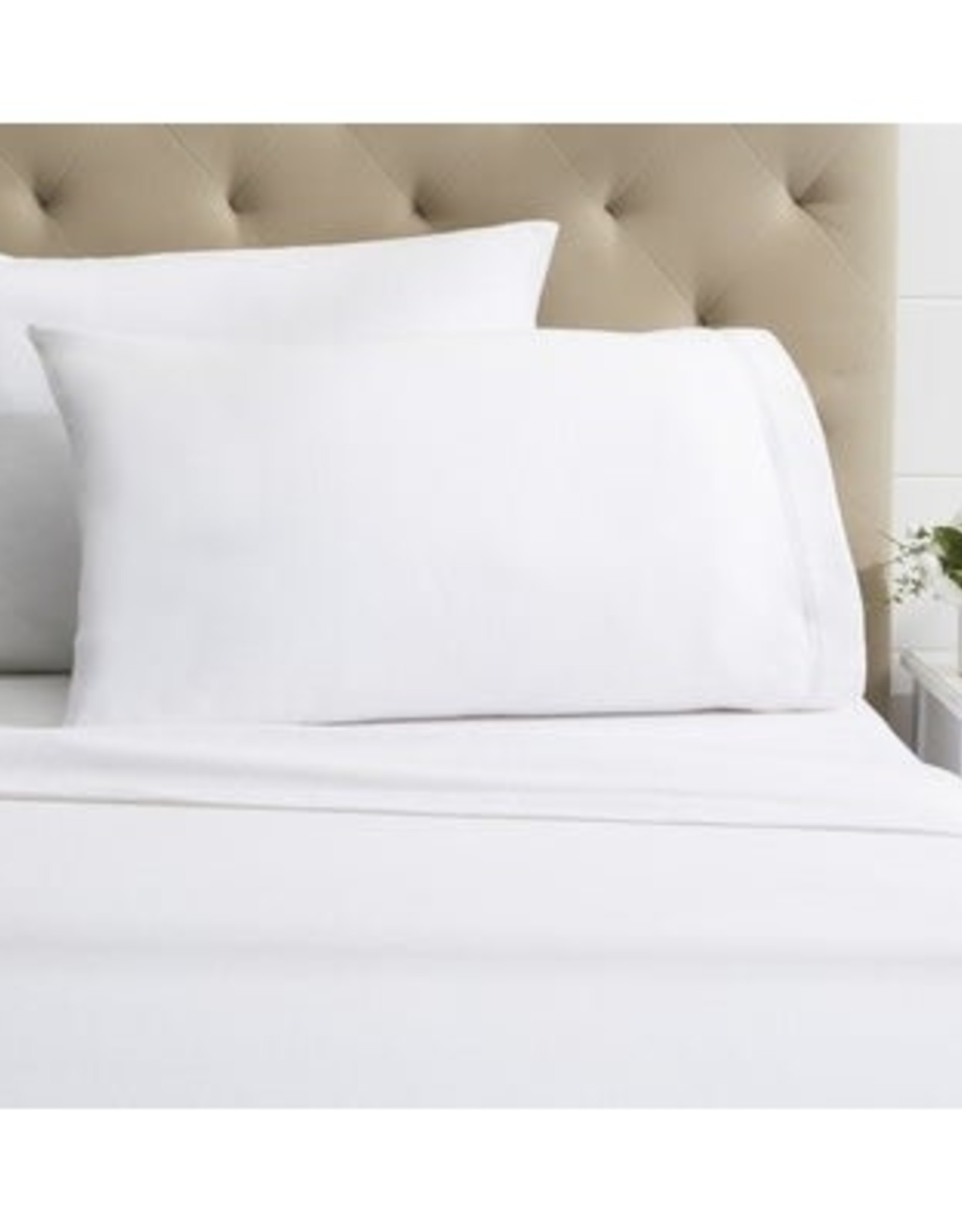 Intermark Sheets Dormisette Flannel Queen White Fitted