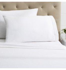 Intermark Sheets Dormisette Flannel King White Flat