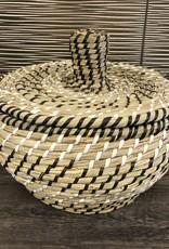 Cathay Basket Cathay Woven Casablanca Lid