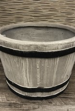 Planter Barrel Small Clay