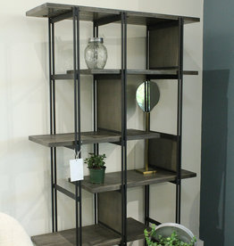 LH Imports LH Levi Medium Bookcase LEV019