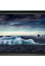 Streamline Art Framed Iceberg
