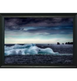 Streamline Art Framed Iceberg