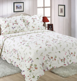 Quilt Sets Peace Arch Cottage Garden 60918 Queen