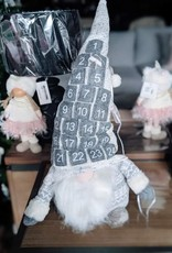"Xmas CT Grey 27"" Advent Gnome Q9357"