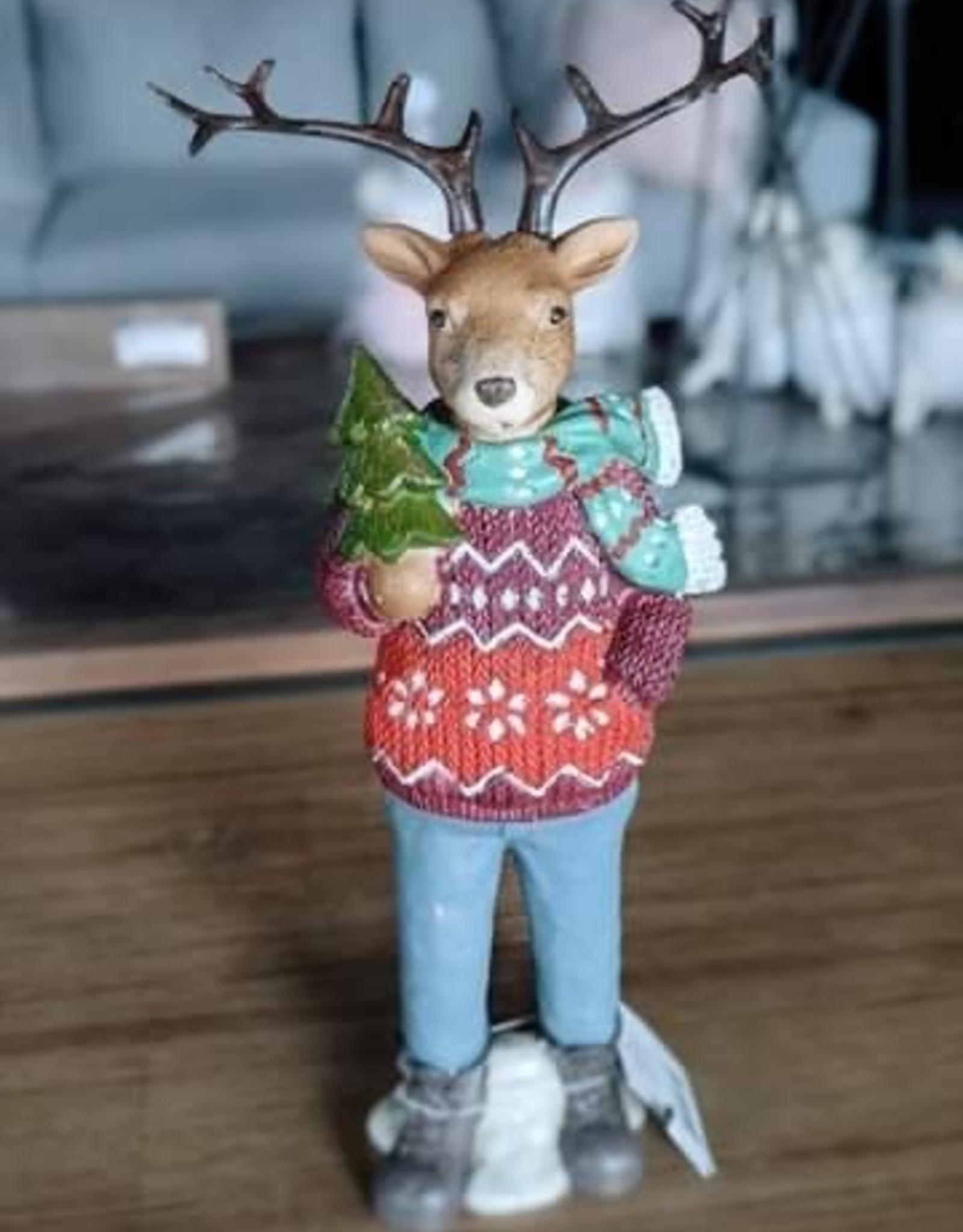 Nostalgia Xmas Nostalgia Deer Hipster Boy 815-008