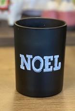 Xmas Past Candle Noel Black