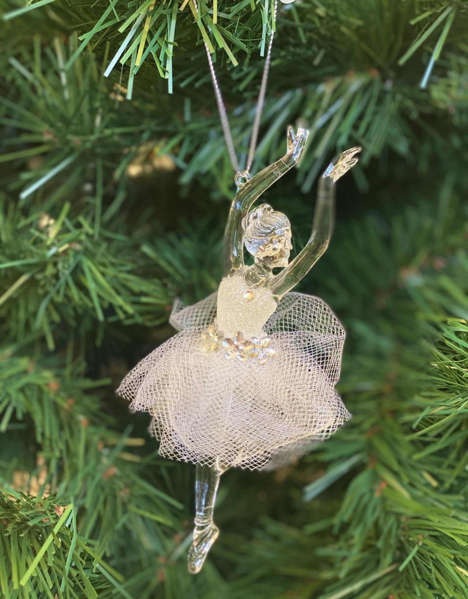 """Xmas Starlight Ballerina 6"""" DD6533W"""