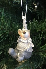 Xmas CT Boy Girl Mouse Laying W4446