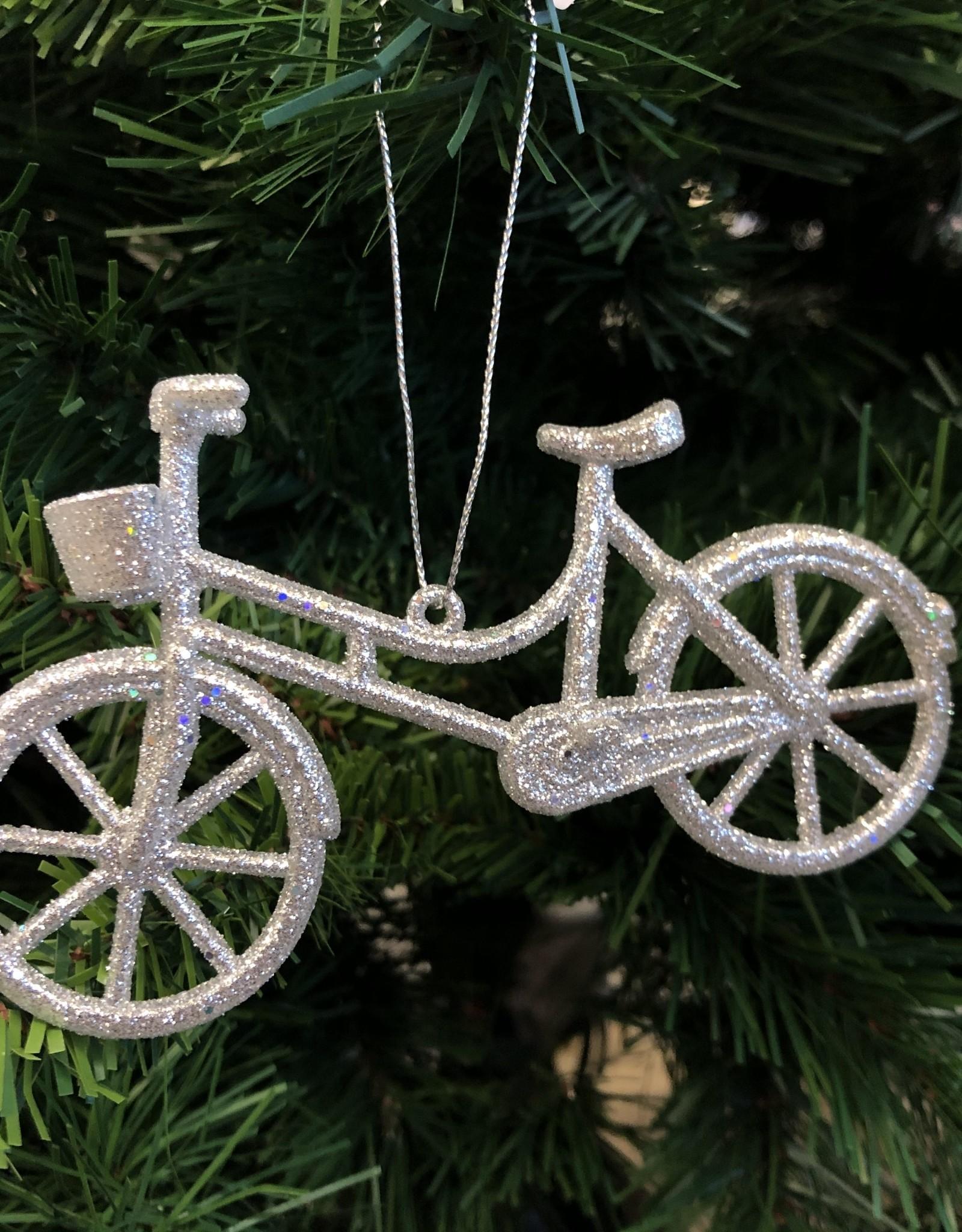 """Xmas Starlight Bicycle Silver 3"""" DK0606"""