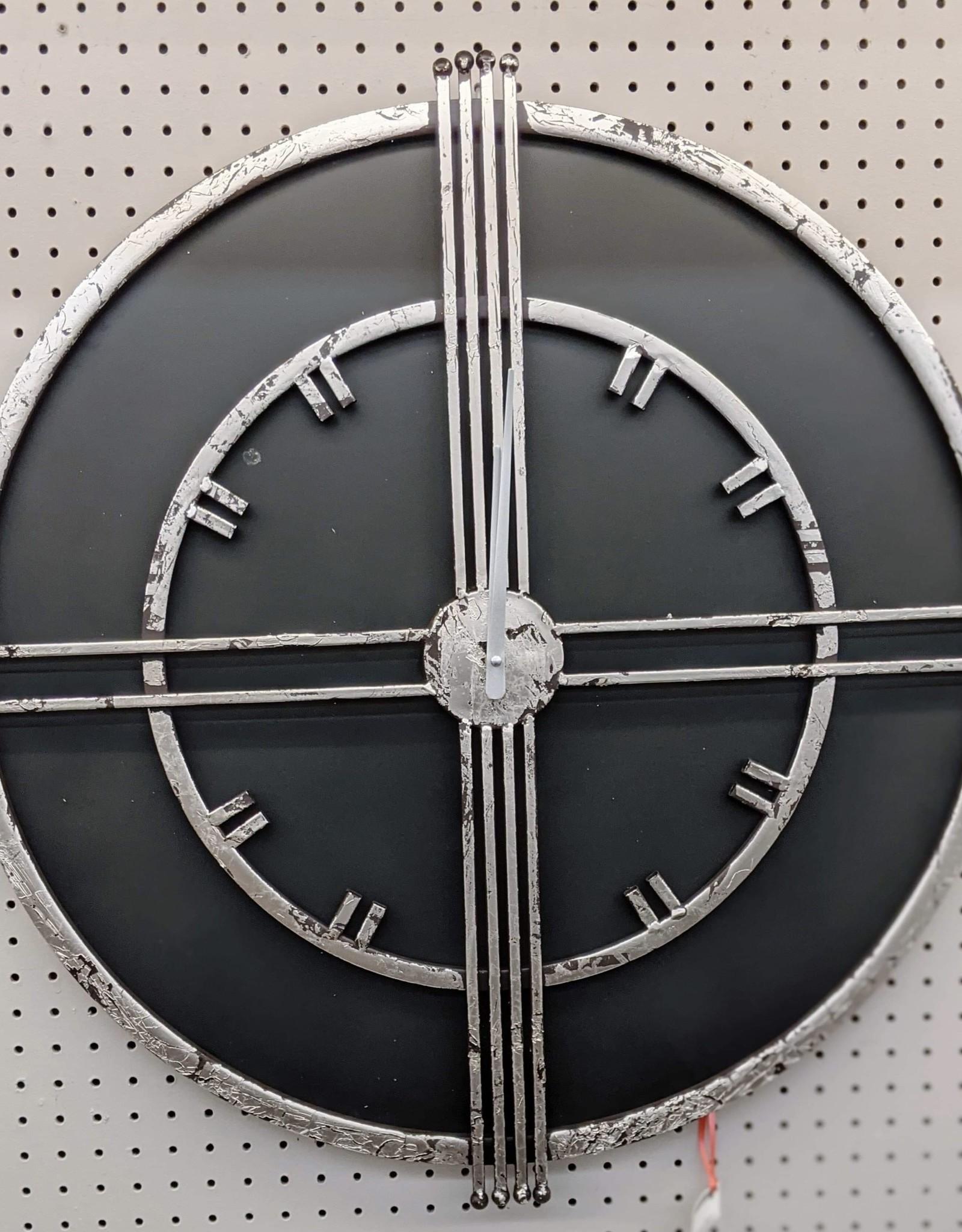 Clocks Northwood Rustic Black IMP8037