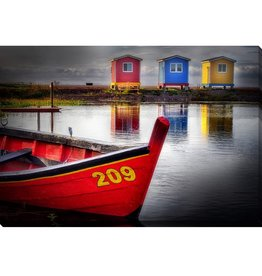 Streamline Art One Dory Three Sheds 30 x 45