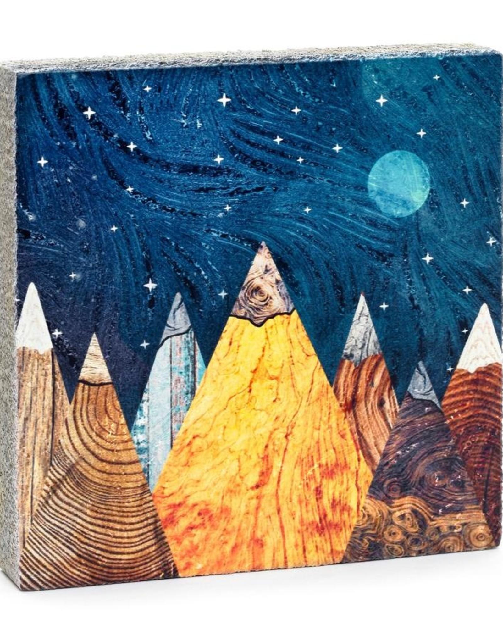 Cedar Mountain Cedar Mountain Art Block Burl Mountains