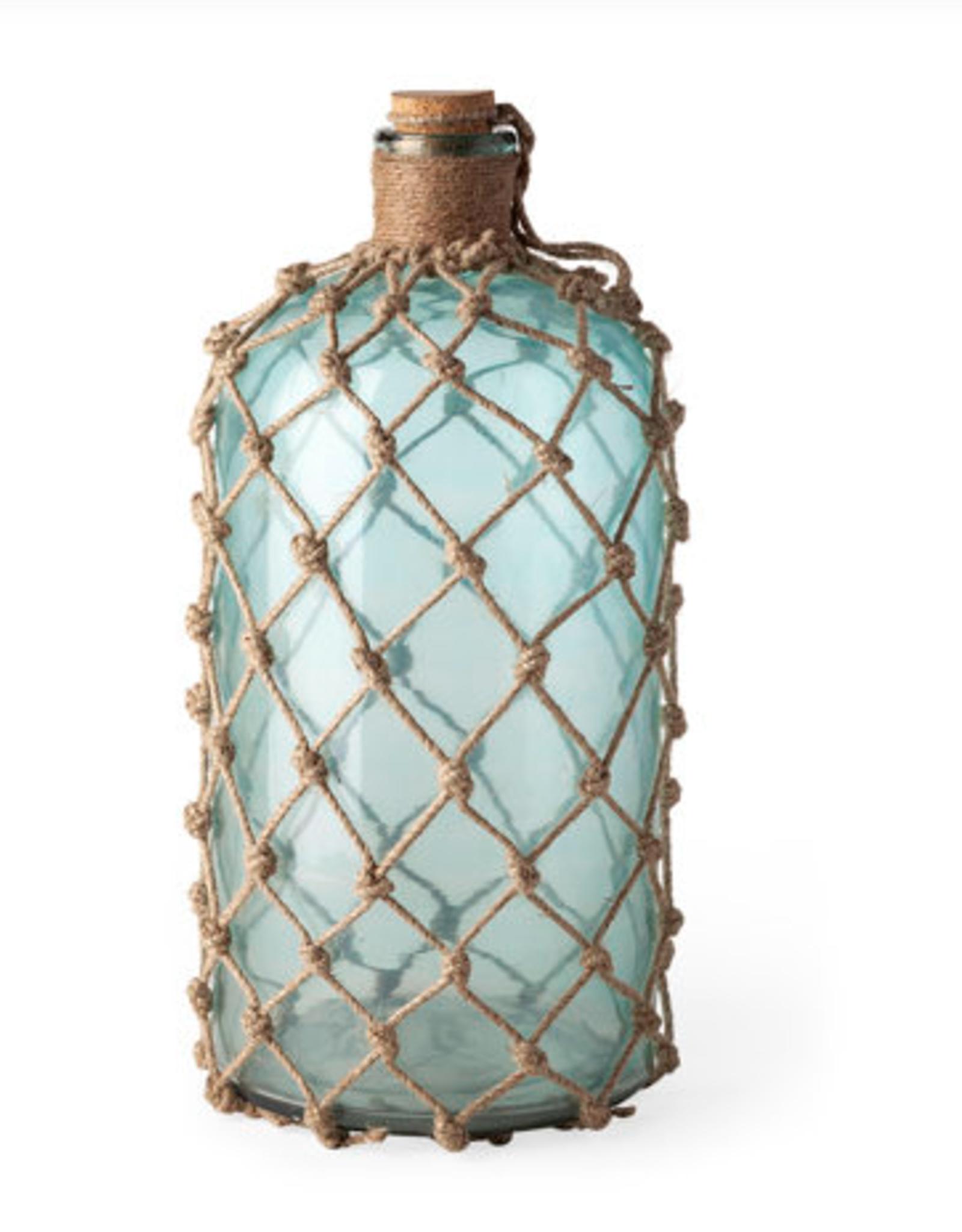 Mercana Bottle Mercana LG Jute Wrapped Aqua 67291