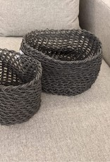 Style In Form Basket SIF Storage Rope Charcoal SM**