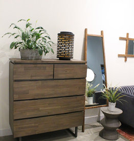 LH Imports LH Dante 5 Drawer Chest DNT006*