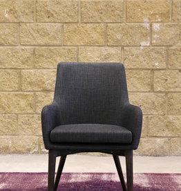 LH Imports LH Fritz Arm Chair Dark Grey