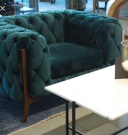 LH Imports LH Barnaby Club Chair Emerald Velvet FZ-10
