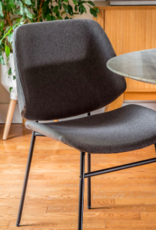Style In Form SIF Noir Dining Chair Grey NOI-001