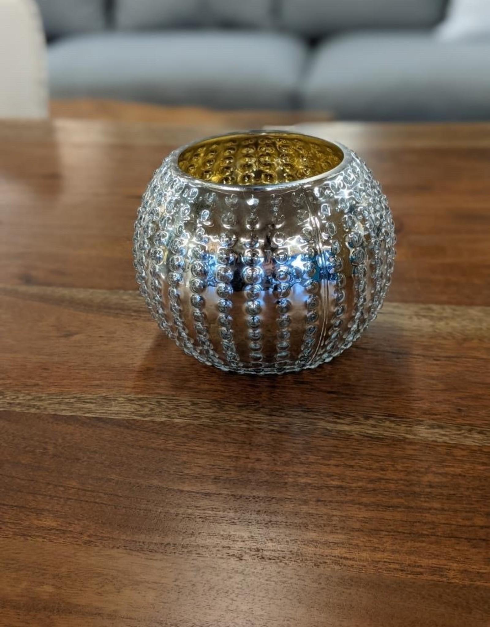 Vase V&L Dimple Silver