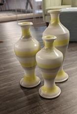 Nostalgia Vase Hourglass Shape Lime Small