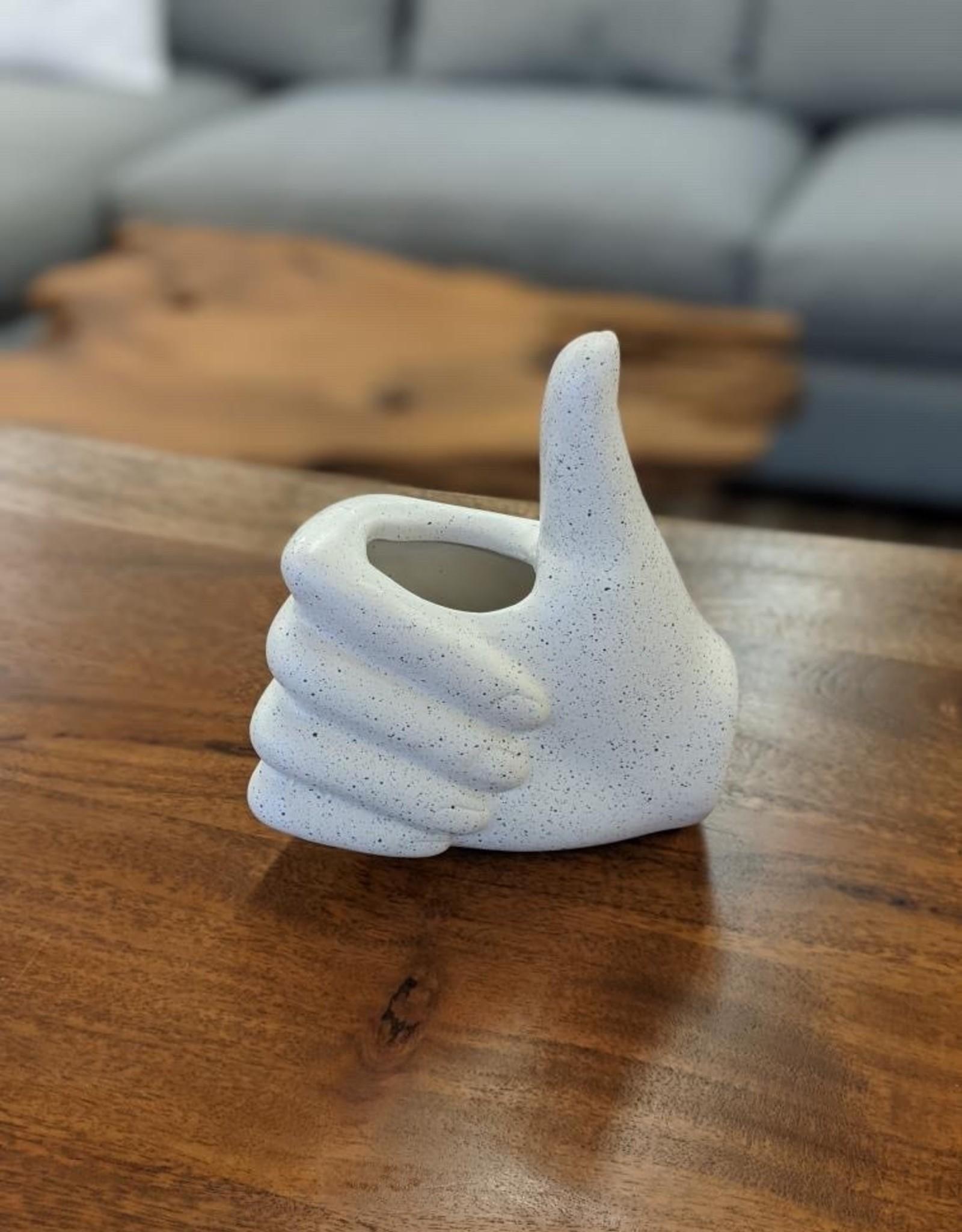 Vase CTG Hand  White