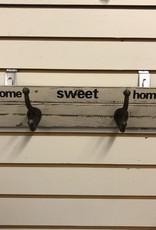 Signs NACH Home Sweet Home W/Hooks