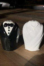 Salt Pepper Shaker Wedding S/ 2