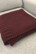 Daniadown Throw Daniadown Wine Knit
