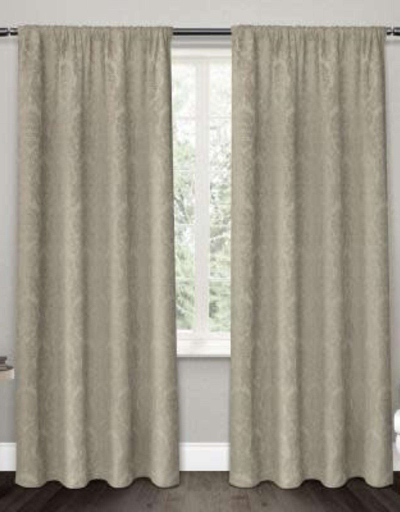 Curtains CasaDecor Taupe Flore 54x84