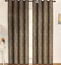 Curtains CasaDecor Green Leaf 54x84