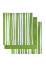 Tea Towel Harman Bistro Basket Set3 Green