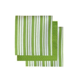 Tea Towel Harman Bistro Basket Set3 Green