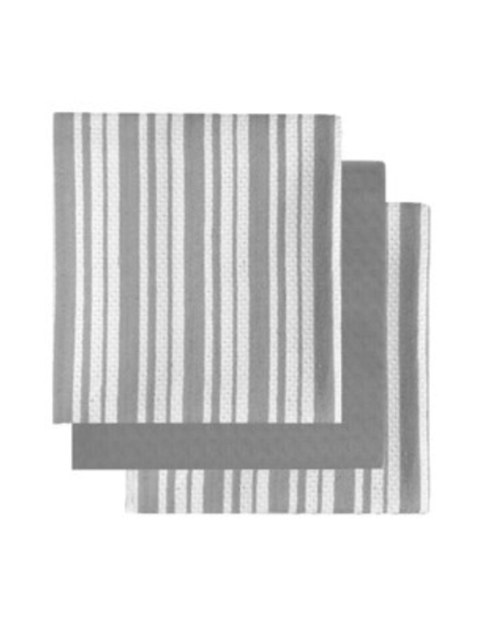 Tea Towel Harman Bistro Basket Set 3 Grey