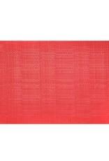 Placemat Harman Basketweave 13x18 Red