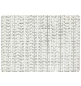 Placemat Harman Etch Leaf Printed Grey