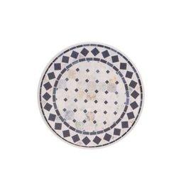Coasters Harman Printed Mosaic Blue Set 6