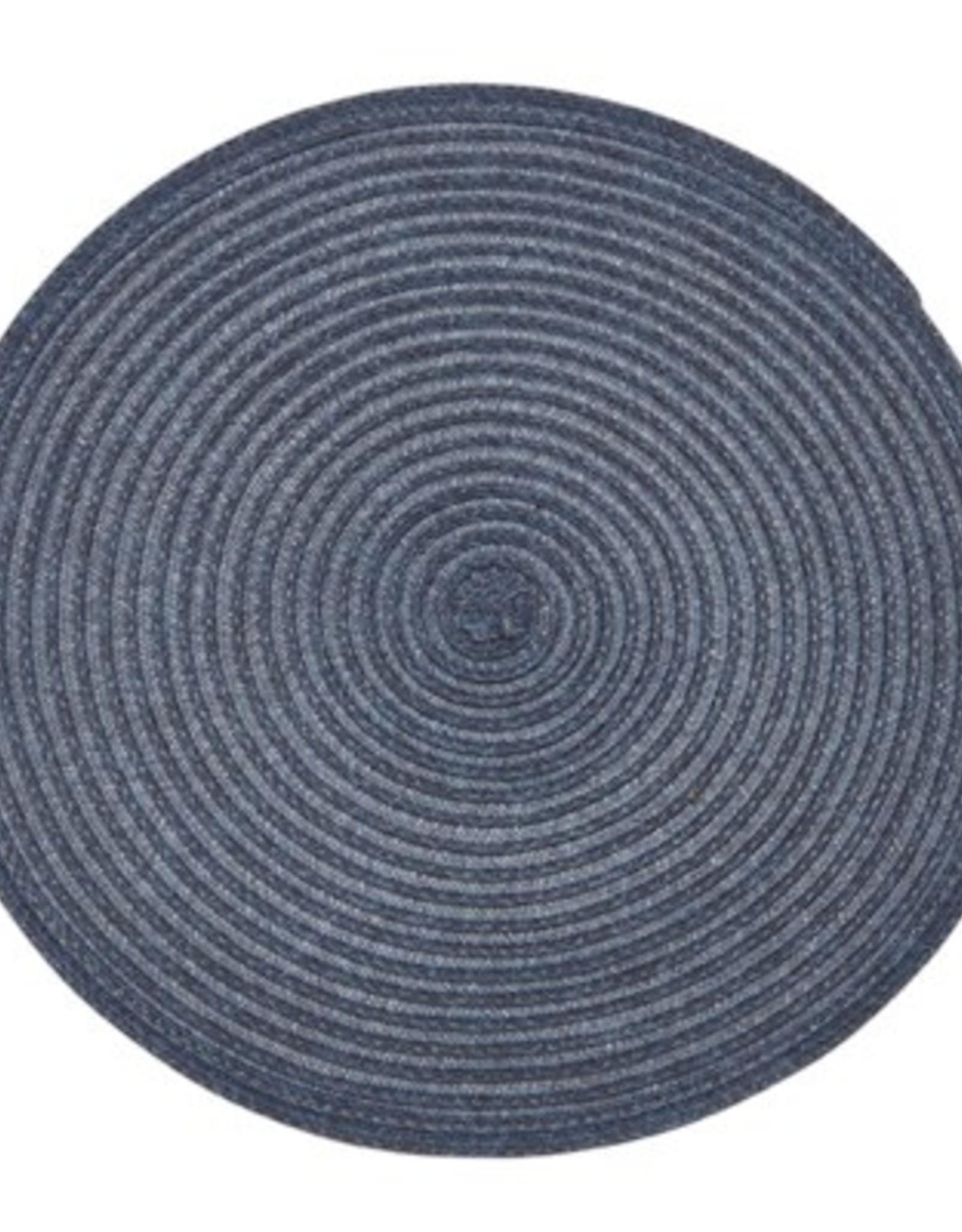 Placemat Harman Urban Two Tone Round Blue