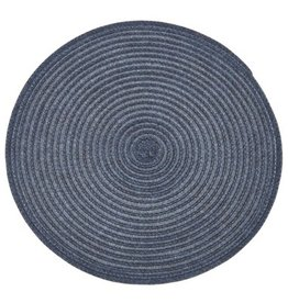 Placemat Harman Urban Two Tone Round Blue