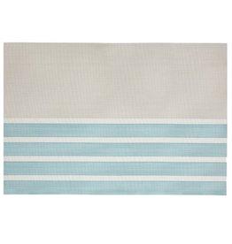 Placemat Harman Pacific Aqua Stripe Vinyl