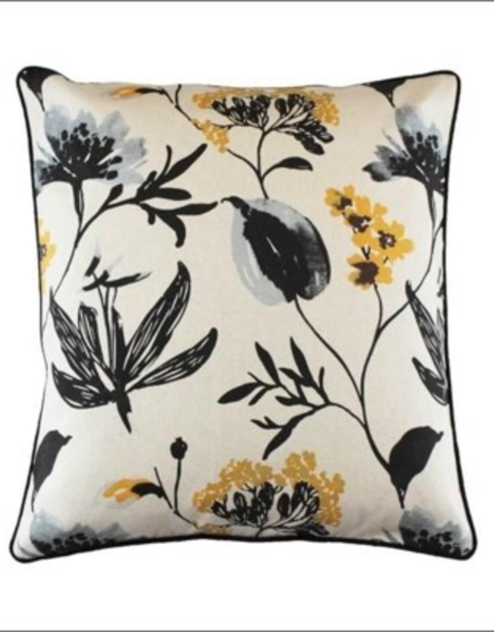 Cushions CJ White Flowers