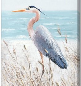Streamline Art Heron Watch 24 x 36