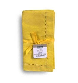 Napkins Harman Vienna Linen S/4 18x18 Yellow