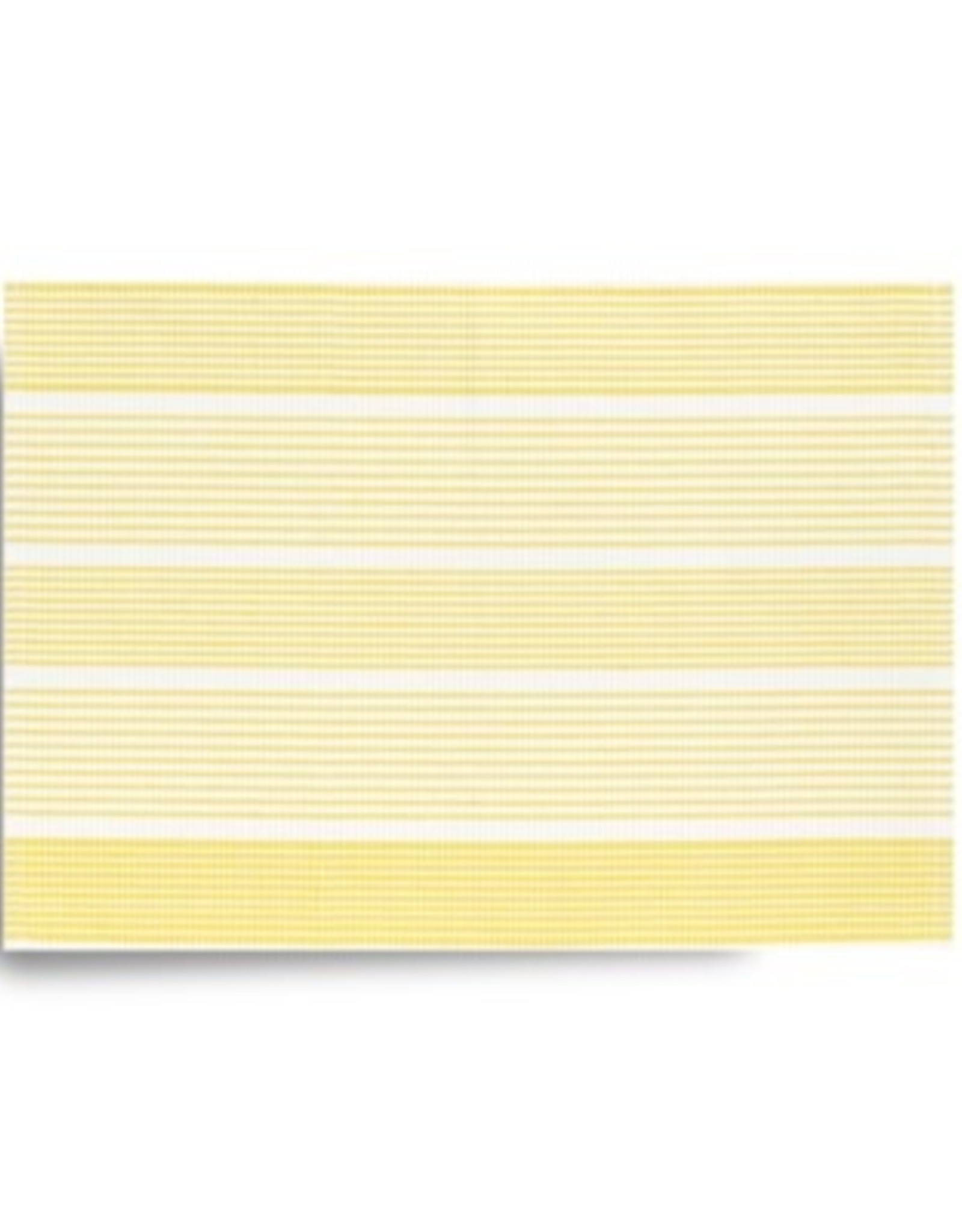 Placemat Harman Ribbed Stripe 13x19 Yellow